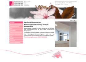 brustkrebsvorsorge-muenster.de