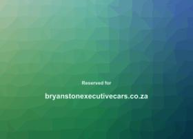 bryanstonexecutivecars.co.za