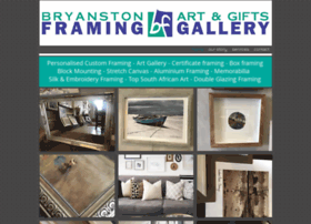 bryanstonframing.co.za