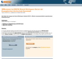 bscw.efh-darmstadt.de