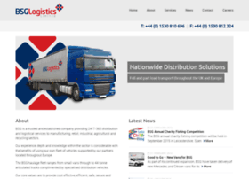 bsglogistics.co.uk