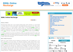 bsnlonlinerecharge.co.in