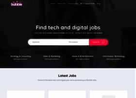 bubble-jobs.co.uk
