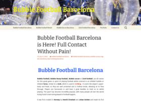 bubblefootballbarcelona.org