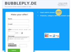 bubbleply.de