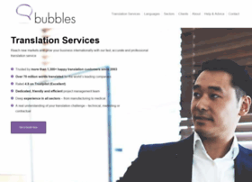 bubblestranslation.com