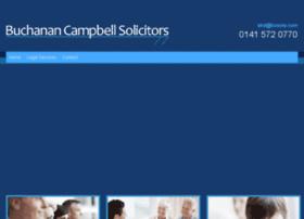 buchanancampbellsolicitors.co.uk