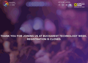 bucharest.techweek.ro