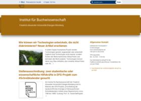 buchwiss.uni-erlangen.de
