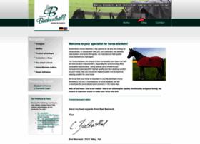 buckenthals-horse-blankets.com