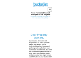 bucketlistbnb.com