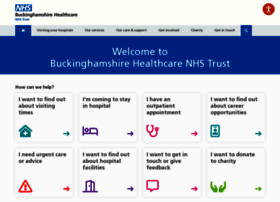 buckshealthcare.nhs.uk