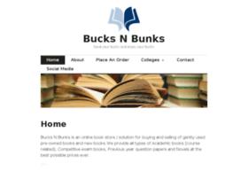 bucksnbunks.wordpress.com