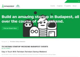 budapest.startupweekend.org