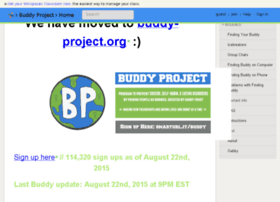 buddy-project.wikispaces.com