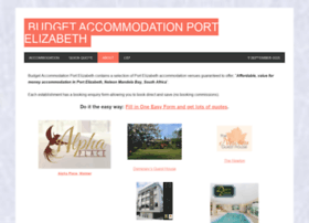 budget-accommodation-port-elizabeth.com