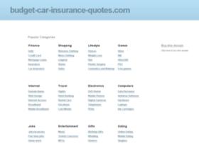 budget-car-insurance-quotes.com