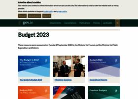 budget.gov.ie