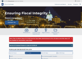 budget.state.pa.us
