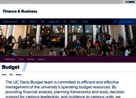 budget.ucdavis.edu