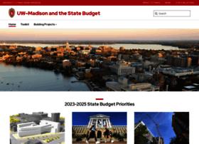 budget.wisc.edu