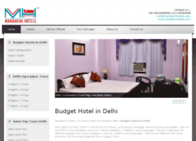 budgetaccommodationdelhi.com