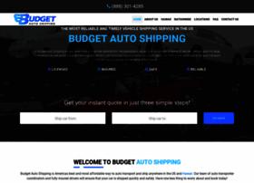 budgetautoshipping.com