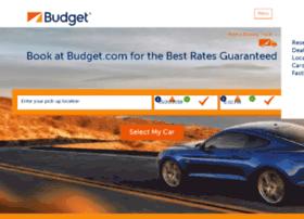 budgetcarrental.com