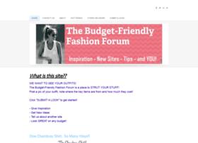 budgetfriendlyfashionforum.weebly.com