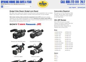 budgetvideorepair.com