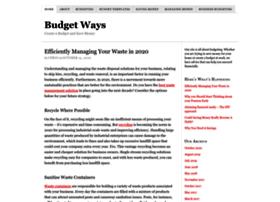budgetways.com