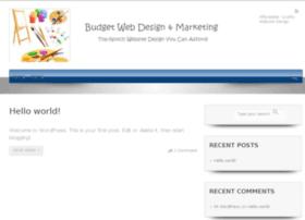 budgetwebdesignandmarketing.com