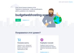 budgetwebhosting.space