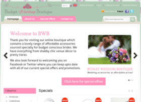 budgetweddingboutique.co.uk