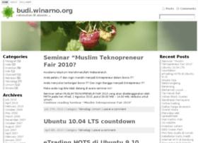 budi.winarno.org