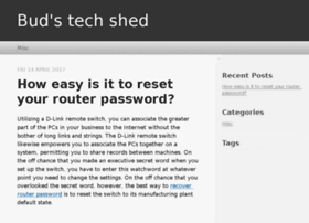budstechshed.com