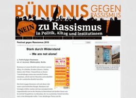 buendnisgegenrassismus.org