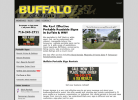 buffalosignrental.com