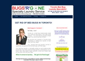 bugsrgonelaundry.com