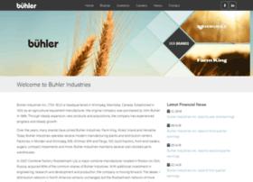 buhlerindustries.com