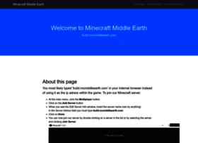 build.mcmiddleearth.com