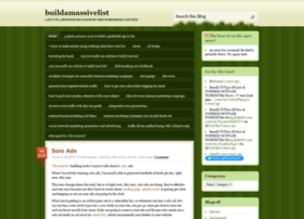 buildamassivelist.wordpress.com