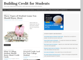 buildingcreditforstudents.com