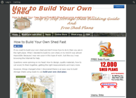 buildyourownshedtips.com