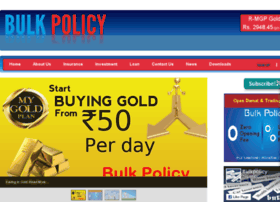 bulkpolicy.com