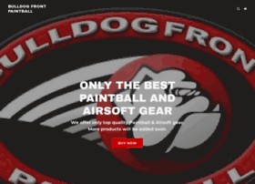 bulldogfrontpaintball.com