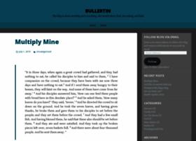bullertin.wordpress.com