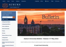 bulletin.auburn.edu