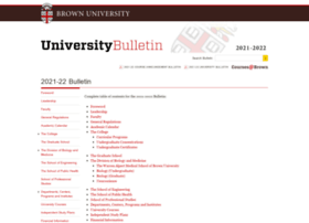 bulletin.brown.edu