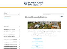 bulletin.dom.edu